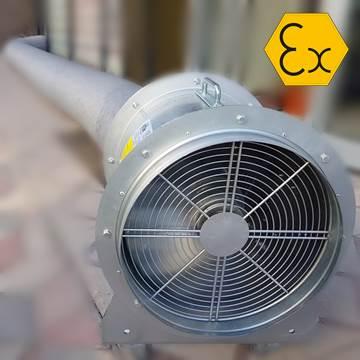 Axd atex mobil fan, exproof portabil, portatif havalandırma fanı imalatı