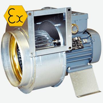 Östberg RFTX 140 C, RFTX 200B, RFTX 200C Exproof salyangoz fan