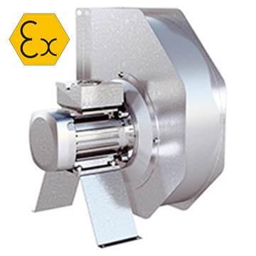 RFTX Atex exproof radyal salyangoz fan, istanbul, ankara, izmir