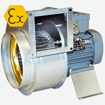 RFTX 140C, RFTX 200 expolosion proof atex ventilation fans