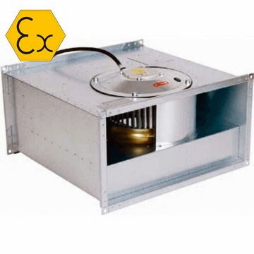 RKX ATEX exproof dikdörtgen kanal tipi radyal exproof fan, direkt akuple motorlu, imco, östberg, venco, radyal exproof fan fiyatları, ankara, istanbul, izmir
