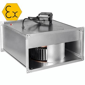 ILT atex soler palau afs, kanal tipi radyal atex belgeli exproof fan, dikdörtgen kanal fanı, zon1, zon2 exproof fan fiyatları