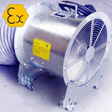 AXD/ATEX MOB exproof taşınabilir mobil fan, mobil duman tahliye egzoz aspiratörü, atex seyyar havalandırma aspiratörü, çift yönlü çift hızlı, borulu flex bağlantılı tekerlekli, taşınabilir exproof vantiatör, aspiratör, fiyat, model, çeşitleri