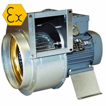 RFTX Atex exproof mini salyangoz fan, sac gövdeli salyangoz aspiratör, östberg rftx, imco rftx, H2, IIB, atex, zon1, zon2 fan fiyatları