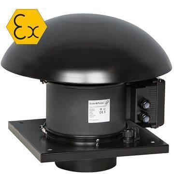 TH-ATEX T3 II Atex, ex-proof çatı tipi egsoz aspiratörü modelleri