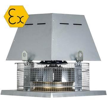 TCDH Atex ex-proof çatı tipi fan afs soler palau tcdh atex