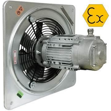 Duvar tipi aksiyal ex proof fan modelleri fiyatları özellikleri