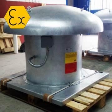 Çatı tipi özel imalat ex proof havalandırma fanı