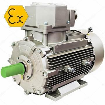 ELPROM Motori Ex-Proof Ac Elektrik Motoru, atex motor
