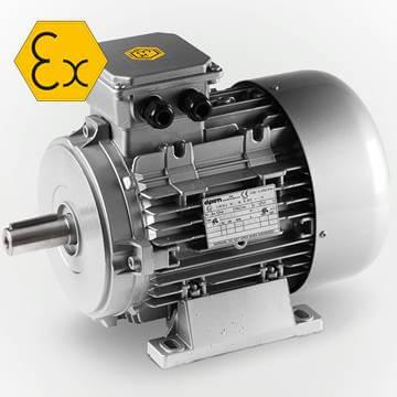 Elprom atex ex proof elektrik motoru monofaze trifaze