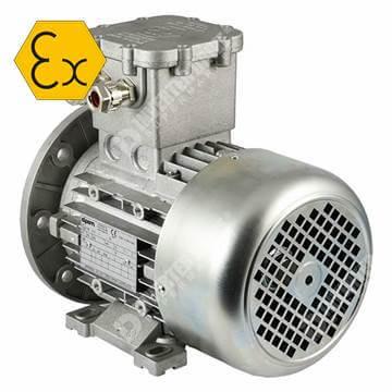 Elprom atex ex-proof elektrik motoru 900, 1500, 3000 dd devir rpm