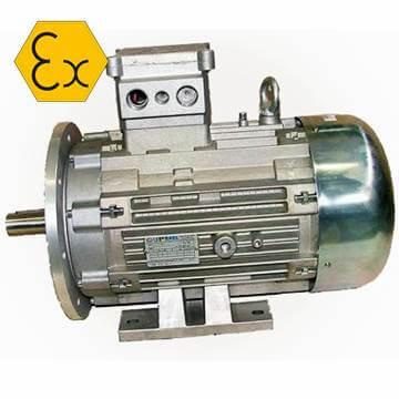 Ex proof korumalı elektrik motoru monofaze, trifaze motor