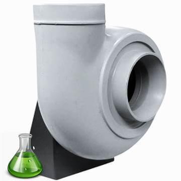 Plastik salyangoz fan kimyasal buhar tahliye fanı