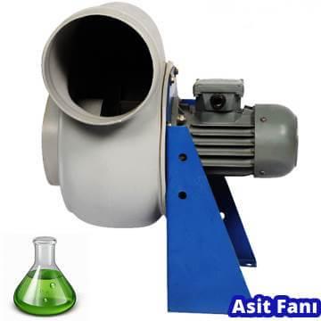 Kimyasala dayanıklı fanlar, plastik salyangoz fan