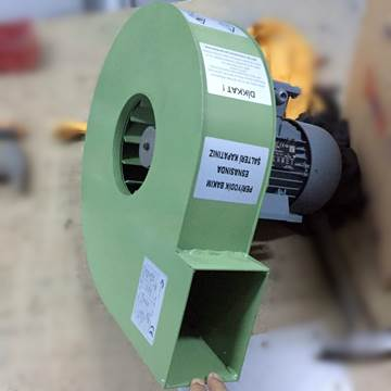Özel imalat orta basınçlı radyal fan
