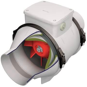 Vortice lineo havalandırma fanı emici fan kanal aspiratörü