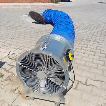 Mobil fan, mobil aksiyel havalandırma fanı