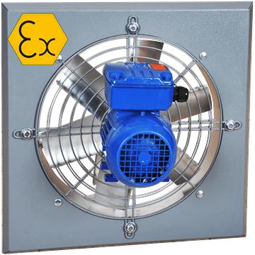 AXW/ATEX duvar tipi aksiyal exproof fan