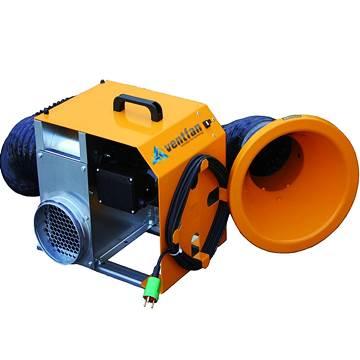 VENT/225-M Mobil duman emici fan, mobil aspiratör, seyyar havalandırma aspiratörü, portatif fan