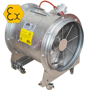 Mobil ex-proof taşınabilir portatif fan, aspiratör, vantilatör