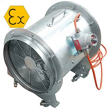 AXD/ATEX MOB taşınabilir ex-proof fan