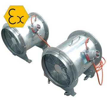 Exproof duman tahliye fanı