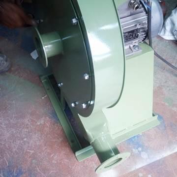 YBS körük tipi yüksek basınçlı radyal salyangoz fan