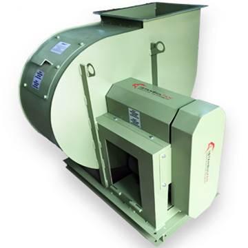 TROBS orta basınçlı kayış kasnak tahrikli santrifüj tip salyangoz fan aspiratör vantilatör