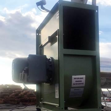 KABS kapaklı endüstriyel davlumbaz aspiratörü salyangoz emici fan imalatı