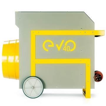 EVO 40 endüstriyel 40 kw sanayi tipi fanlı ısıtıcı