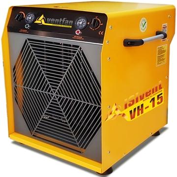 Isıvent vh 15 sanayi tipi elektrikli fanlı ısıtıcı 15 kw trifaze