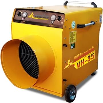 Isıvent VH 35 sanayi tipi elektrikli fanlı ısıtıcı 35 kw