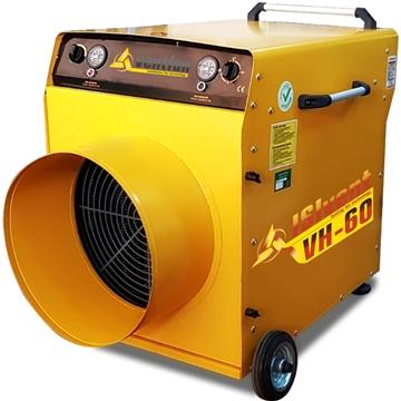 ısıvent vh 60 sanayi tipi elektrikli fanlı ısıtıcı 60 kw